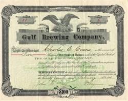 Gulf Brewing Company - Conshohocken, Pennsylvania 1893