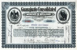 Guanajuato Consolidated Mining & Milling Company - West Virginia 1938