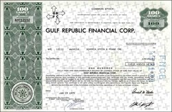 Gulf Republic Financial Corporation (GRFC)