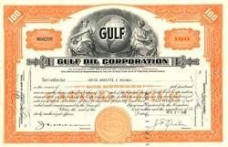 Gulf Oil Corporation (Acquired by Chevron )- Pennsylvania