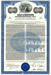 Gulf & Western International N.V. - Netherlands Antilles 1968