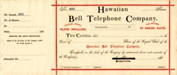 Hawaiian Bell Telephone Company - Honolulu, Hawaii - 188_