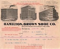 Hamilton, Brown Shoe Co. - St. Louis, Missouri 1900