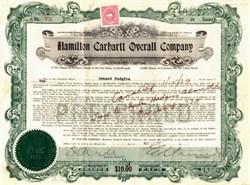 Hamilton Carhartt Overall Company - Atlanta, Georgia 1931