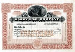 Hardy Coal Company SPECIMEN - Maine