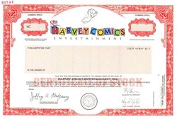Harvey Comics Entertainment, Inc. - California  ( Casper the Friendly Ghost Vignette )