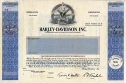 Harley - Davidson, Inc - RARE SPECIMEN PROOF