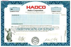 Hadco Corporation - Pre Sanmina Corporation Merger