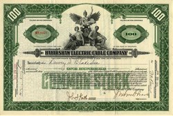 Habirshaw Electric Cable Company - Delaware 1925