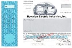 Hawaiian Electric Industries, Inc. - Hawaii 1990