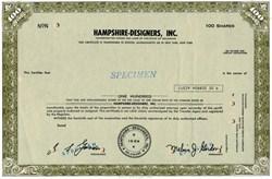 Hampshire-Designers, Inc. - Delaware
