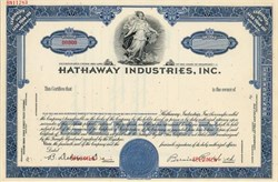 Hathaway Industries, Inc. (Became Seaboard Allied Milling Corporation.)  - Delaware