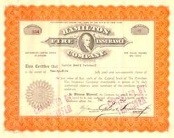 Hamilton Fire Insurance Company