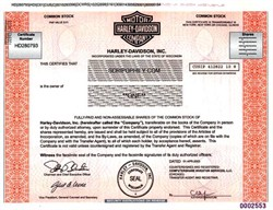 Harley - Davidson Motor Company (Famous Mototcycle Maker)