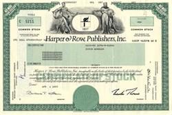 Harper & Row, Publishers, Inc. - Delaware 1987
