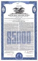 Hampton Roads Revenue Bond - Virginia 1962