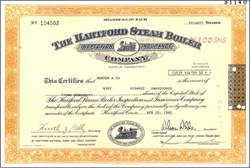 Hartford Steam Boiler Inspection Insurance Company (subsidiary of American International Group - AIG) - Sold to reinsurer Munich Re AG