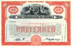 Hat Corporation of America - Delaware