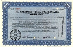 Hartford Times, Incorporated - 1928