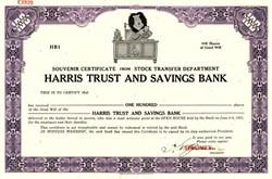 Harris Trust and Savings Bank - Illinois