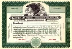 H.D. Lee Mercantile Company - Famous Lee Jean Company - Kansas