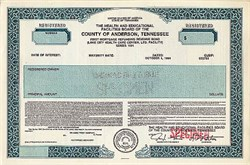Health and Educational Facilities Board of the County of Anderson Tennessee -1991