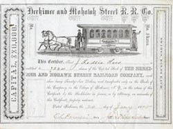 Herkimer and Mohawk Street Railroad Company - New York 1895