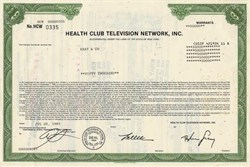 Health Club Television Network, Inc. - New York 1991