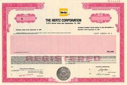 Hertz Corporation - Delaware 1988