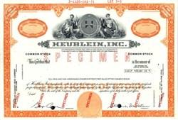Heublein, Inc. (also known as Heublein Spirits) - 1971
