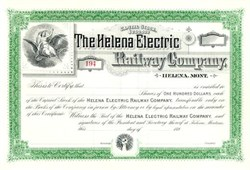 Helena Electric Railway Company