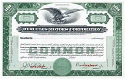 Hercules Motors Corporation - Ohio