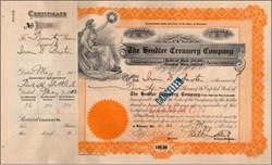 Hendler Creamery (Hendler Ice Cream)   - Signed by founder L. Manuel Hendler  -1922