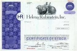 Helena Rubinstein, Inc. Cosmetics - New York