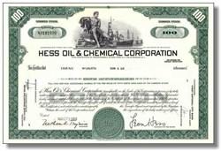 Hess Oil & Chemical Corporation - Leon Hess as Chairman 1969