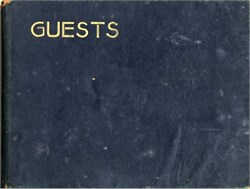 Herald Square Hotel Guest Register (Over 1000 Signatures) - New York 1942 - 1945 during WWII