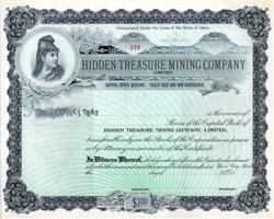 Hidden Treasure Mining Company, Limited - Idaho
