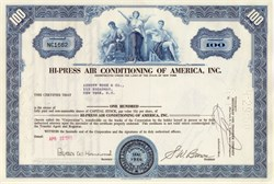 Hi-Press Air Conditioning of America, Inc.