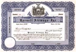 Hornell Airways, Inc. - New York