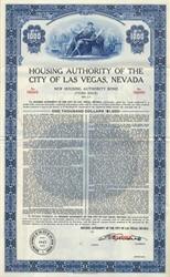 Housing Authority of the City of Las Vegas - Nevada 1961