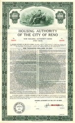 Housing Authority of the City of Reno - Nevada 1958