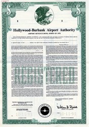 Hollywood - Burbank Airport Authority (Now Bob Hope Airport)  - California 1978