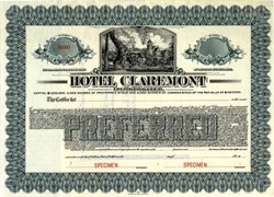 Hotel Claremont - Berkeley Hills, California 1915