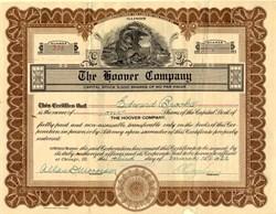 Hoover Company - Illinois 1922