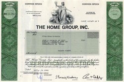 Home Group, Inc. - 1985 - Home Insurance