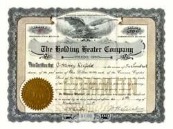 Holding Heater Company 1905 - Toledo, Ohio