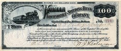 Holman Locomotive Speeding Truck Company (Holman Locomotive SCAM)  1896 - Sioux City, Iowa