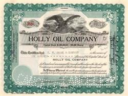 Holly Oil Company - Colorado