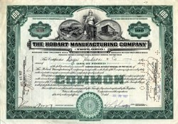 Hobart Manufacturing Company - Troy, Ohio 1927