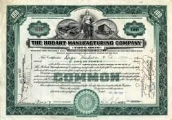 Hobart Manufacturing Company - Troy, Ohio 1927